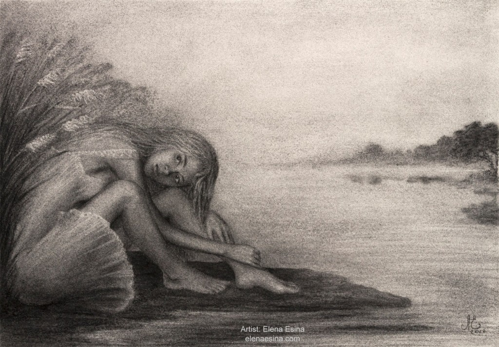 Lake of Consequence Nude Drawing