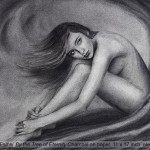 """Nude Drawing """"By the Tree of Eternity"""""""