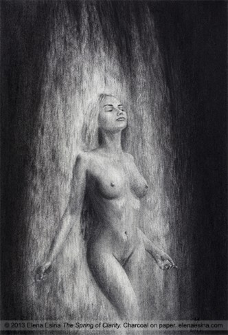 The Spring of Clarity. Nude Drawing